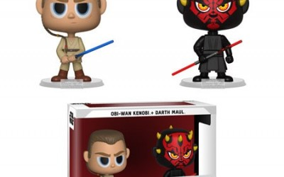 New Phantom Menace Darth Maul & Obi-Wan Funko Vynl Figure 2-pack now available!