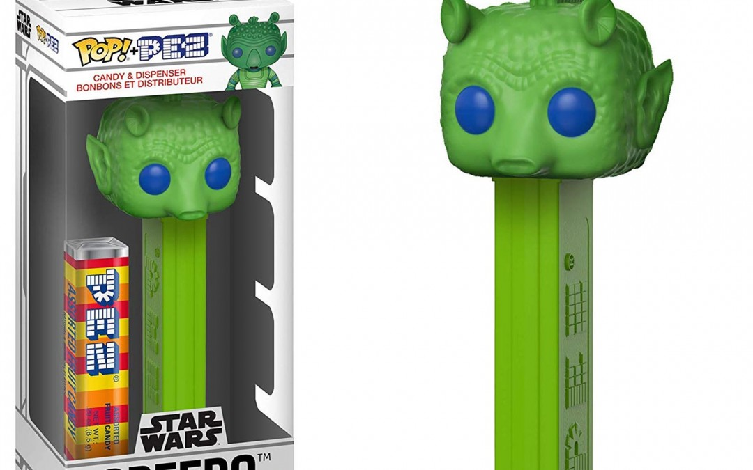 New A New Hope Funko Pop! Greedo PEZ Dispenser available now!