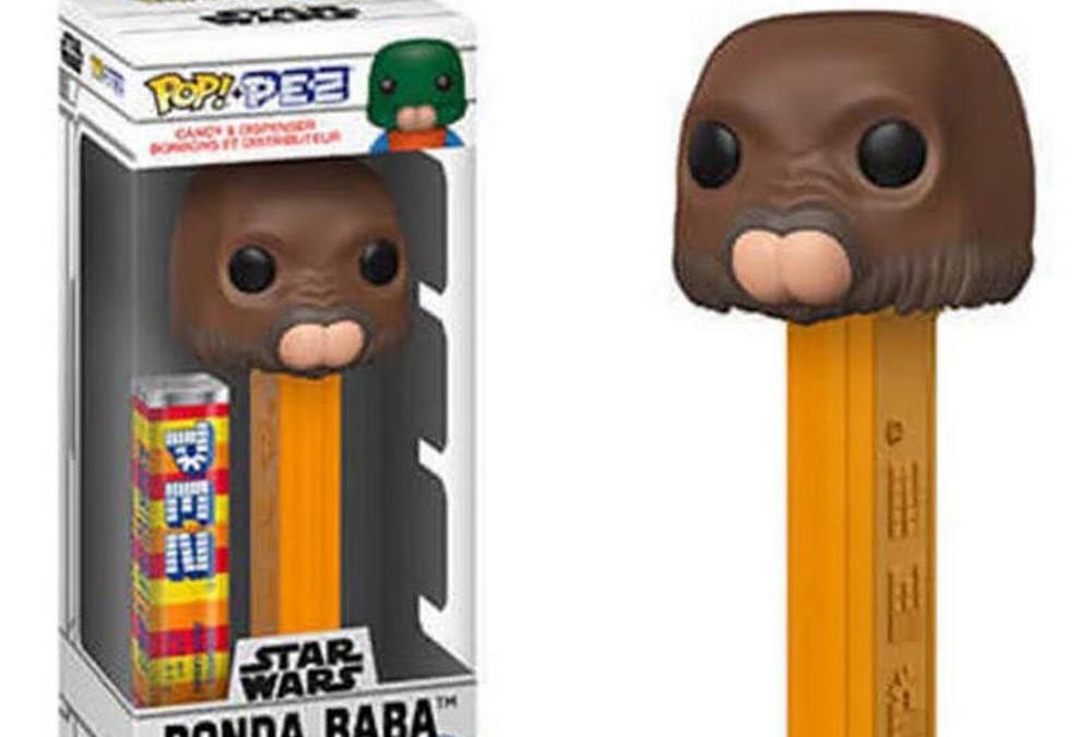 New Star Wars Funko Pop! Ponda Boba PEZ Dispenser now available!