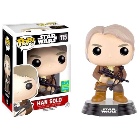 New Force Awakens Funko Han Solo Bobble Head Toy available!