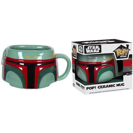 New Star Wars Funko Boba Fett Ceramic Mug available now!