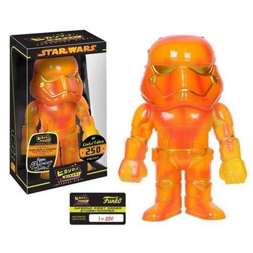 New Force Awakens Funko Inferno First Order Stormtrooper Hikari Figure available now!