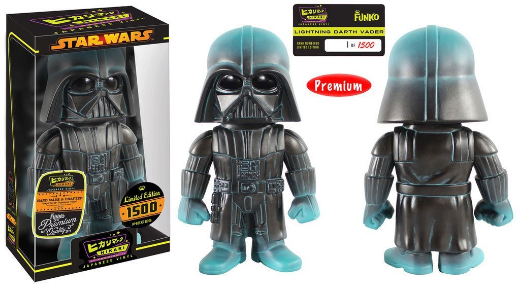 New Star Wars Funko Darth Vader Lightning Premium Hikari Figure available!