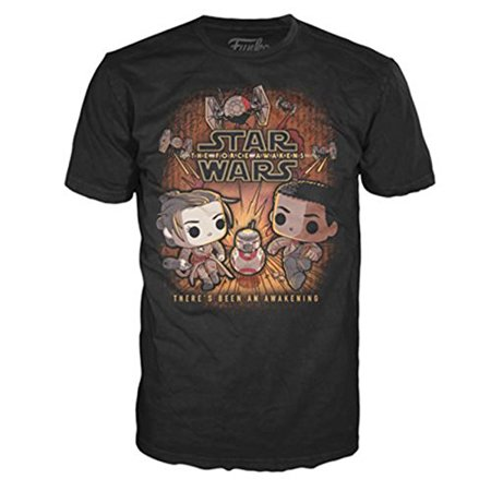 New Force Awakens Funko Rey & Finn Running T-Shirt available now!