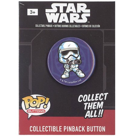 New Force Awakens Funko First Order Stormtrooper Pinback Button available now!