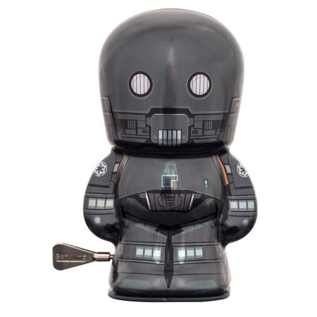 New Rogue One K-2SO Shylling Tin Wind-Up Toy available!