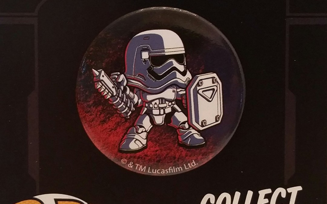 New Force Awakens FN-2199 Funko Pinback Button now available!