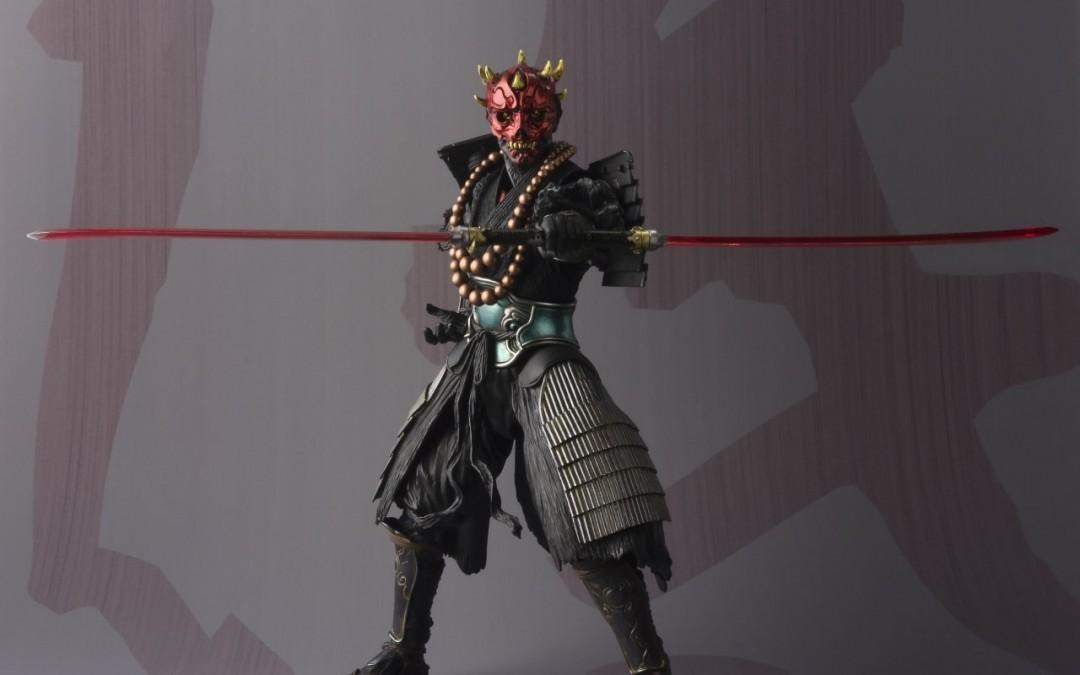 New Phantom Menace Darth Maul Ashigaru Figure now available!