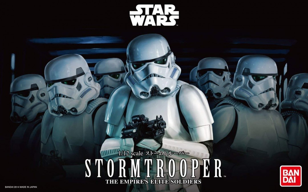 New Star Wars Imperial Stormtrooper Model Kit available now!