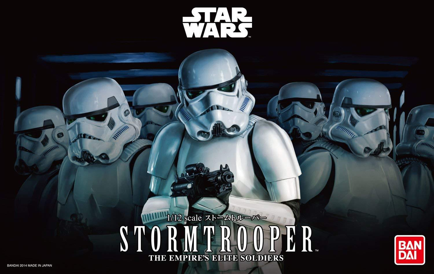 SW Imperial Stormtrooper Model Kit 1