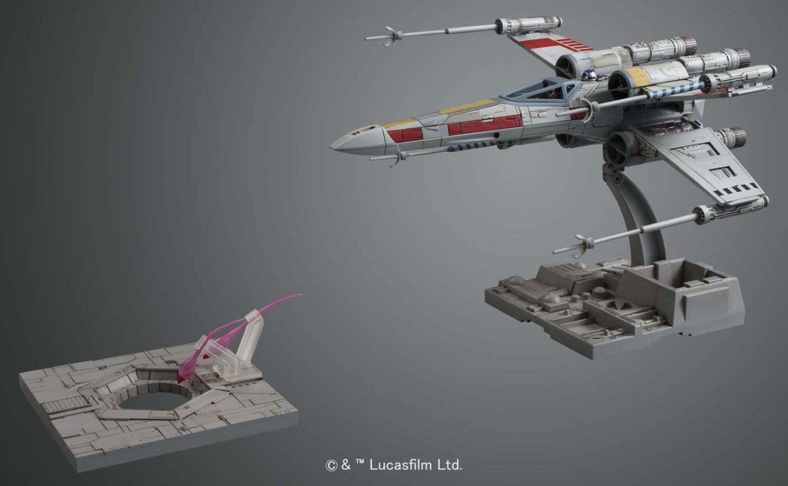 ANH X-Wing Fighter Model Kit 3