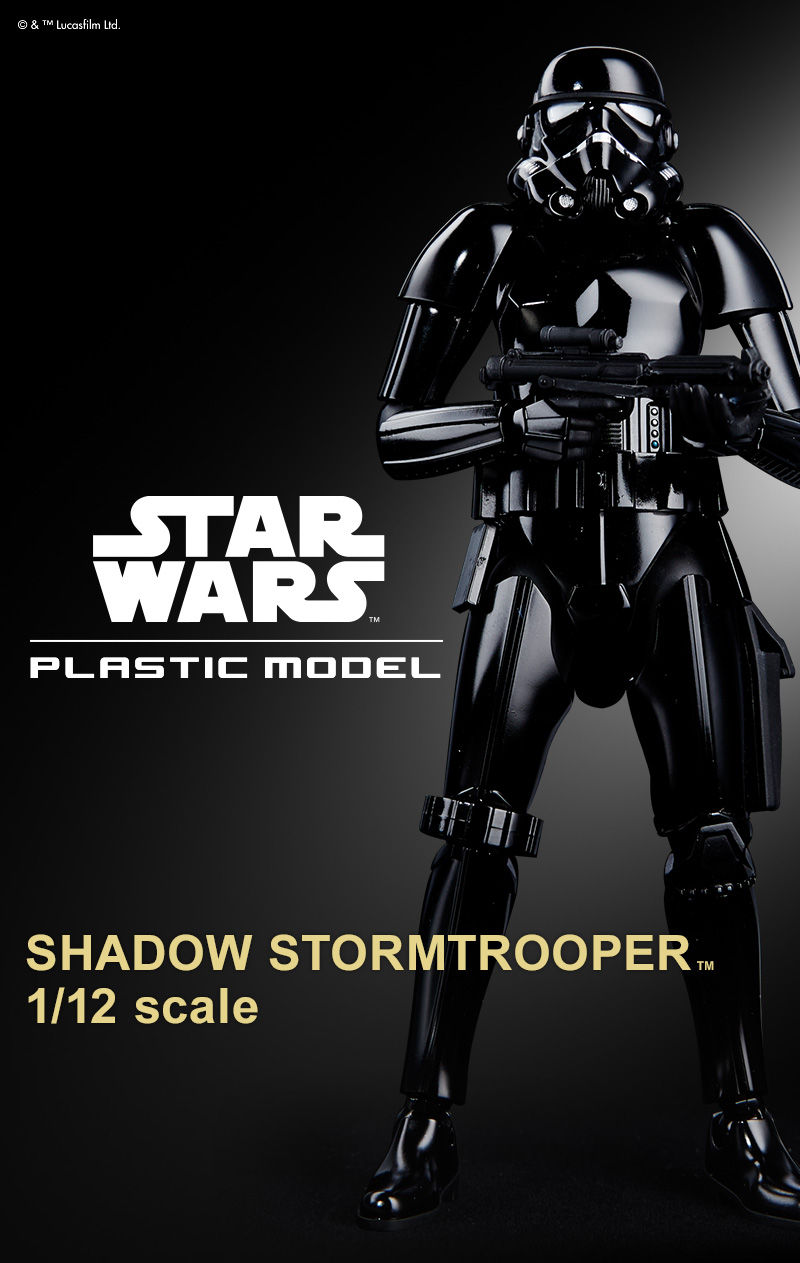 SW Imperial Shadow Stormtrooper Model Kit 1