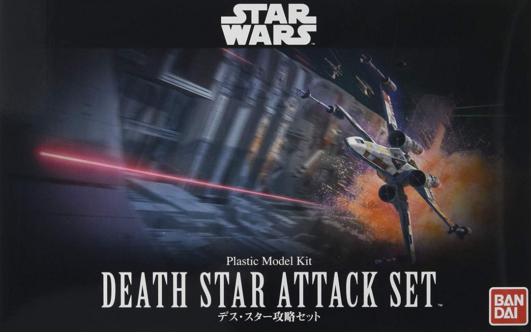 New A New Hope Death Star Attack Plastic Model Kit Set available!