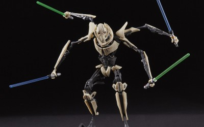 New Revenge of the Sith General Grievous Black Series Figure available!