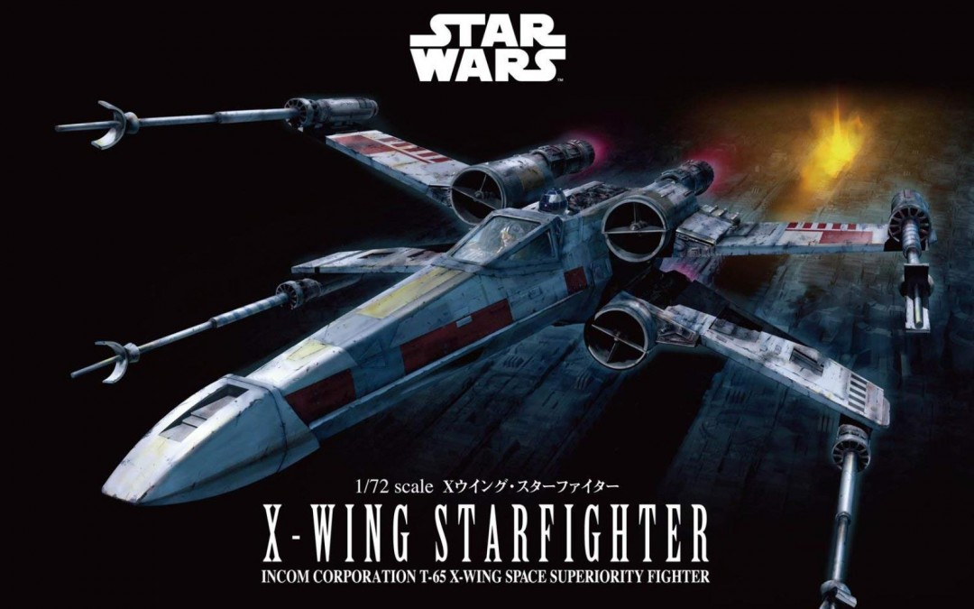 New A New Hope X-Wing Fighter Model Kit now available!