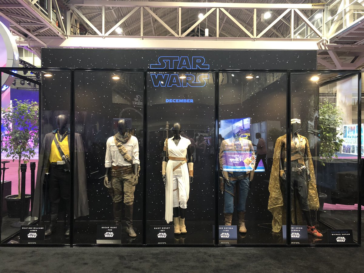The Rise of Skywalker Costumes 1