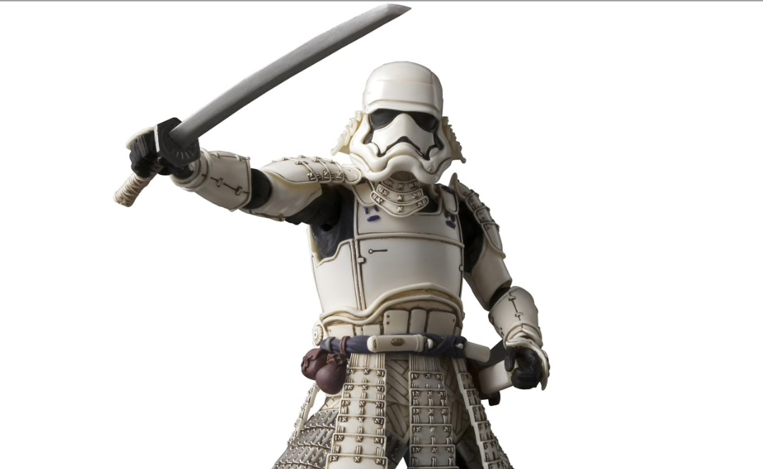 New Last Jedi First Order Stormtrooper Ashigaru Figure available for pre-order!
