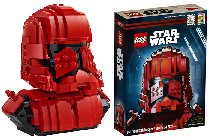 ROS FO Sith Trooper Bust Lego Set