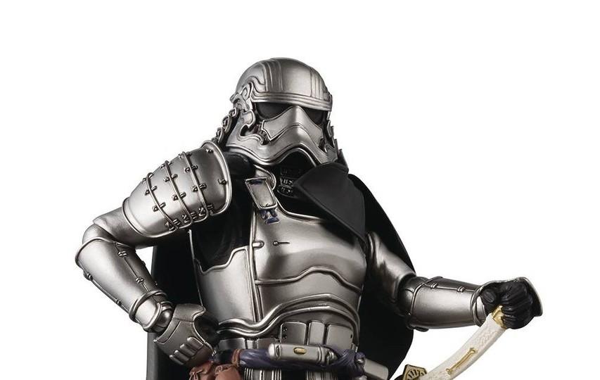 New Last Jedi Captain Phasma Ashigaru Figure available for pre-order!