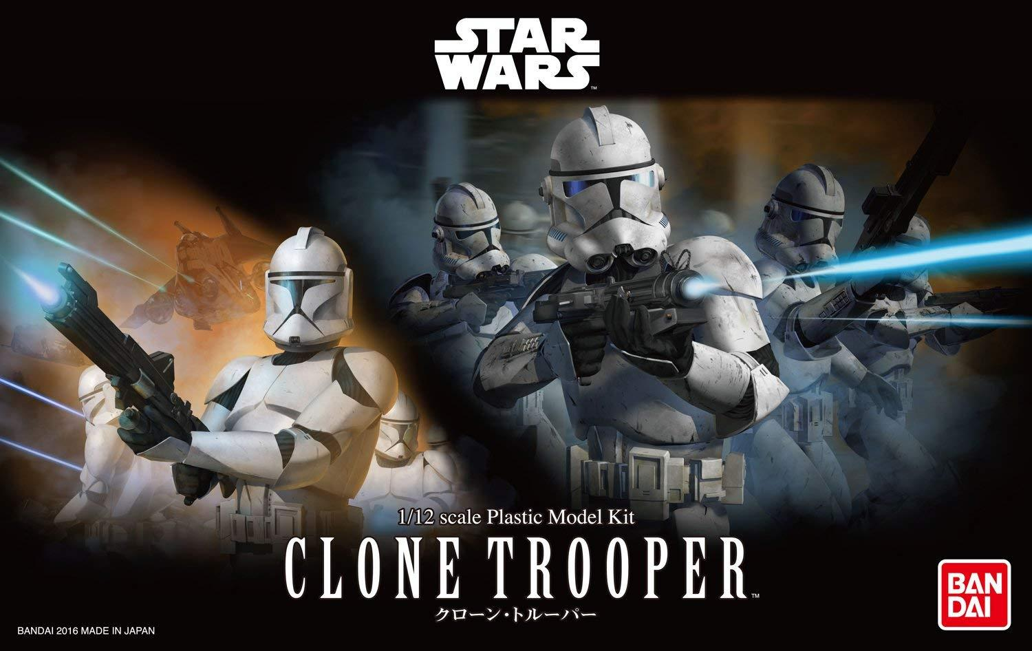 ROTS Clone Trooper Modle Kit 1