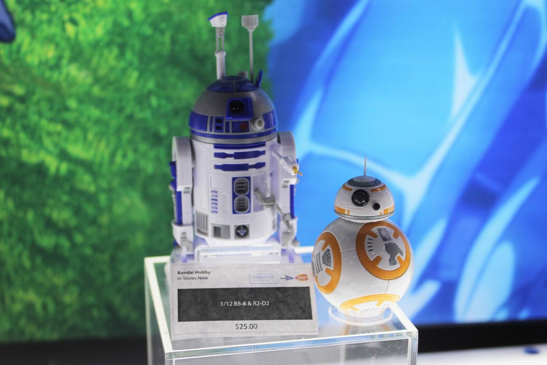 Star Wars The Force Awakens BB-8 /& R2-D2 1//12 2-Pack Model Kit Maquette Bandai