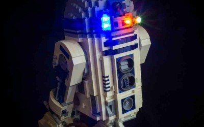 New Star Wars R2-D2 Lighting Lego Set available now!