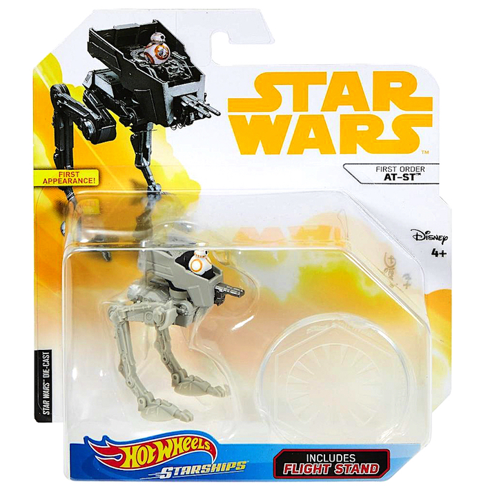 Solo: ASWS (TLJ) Hot Wheels AT-ST Walker Vehicle Toy