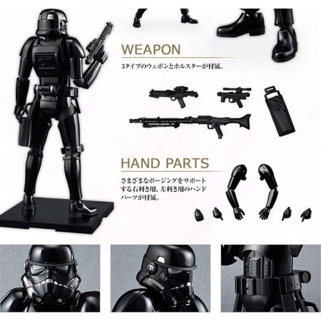 SW Imperial Shadow Stormtrooper Model Kit 2