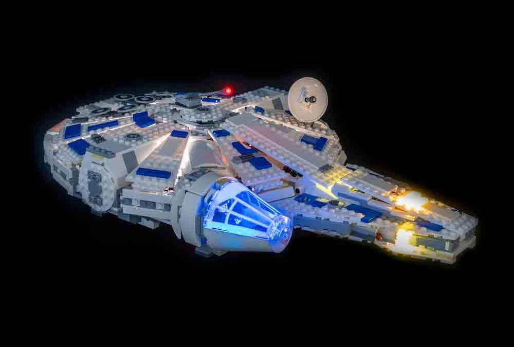 New Solo Movie Millennium Falcon Lighting Lego Set available!