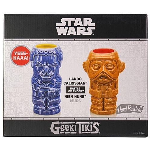 ROTJ Lando and Nien Nunb Geeki Tikis Mug 2-Pack 1