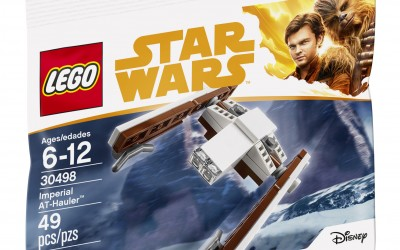 New Solo Movie Imperial AT-Hauler Polybag Lego Set available!