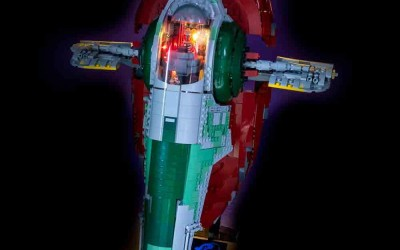New Empire Strikes Back Slave 1 Lego Lighting Set available now!