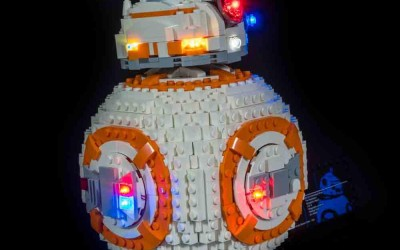 New Last Jedi BB-8 Lighting Lego Set available now!