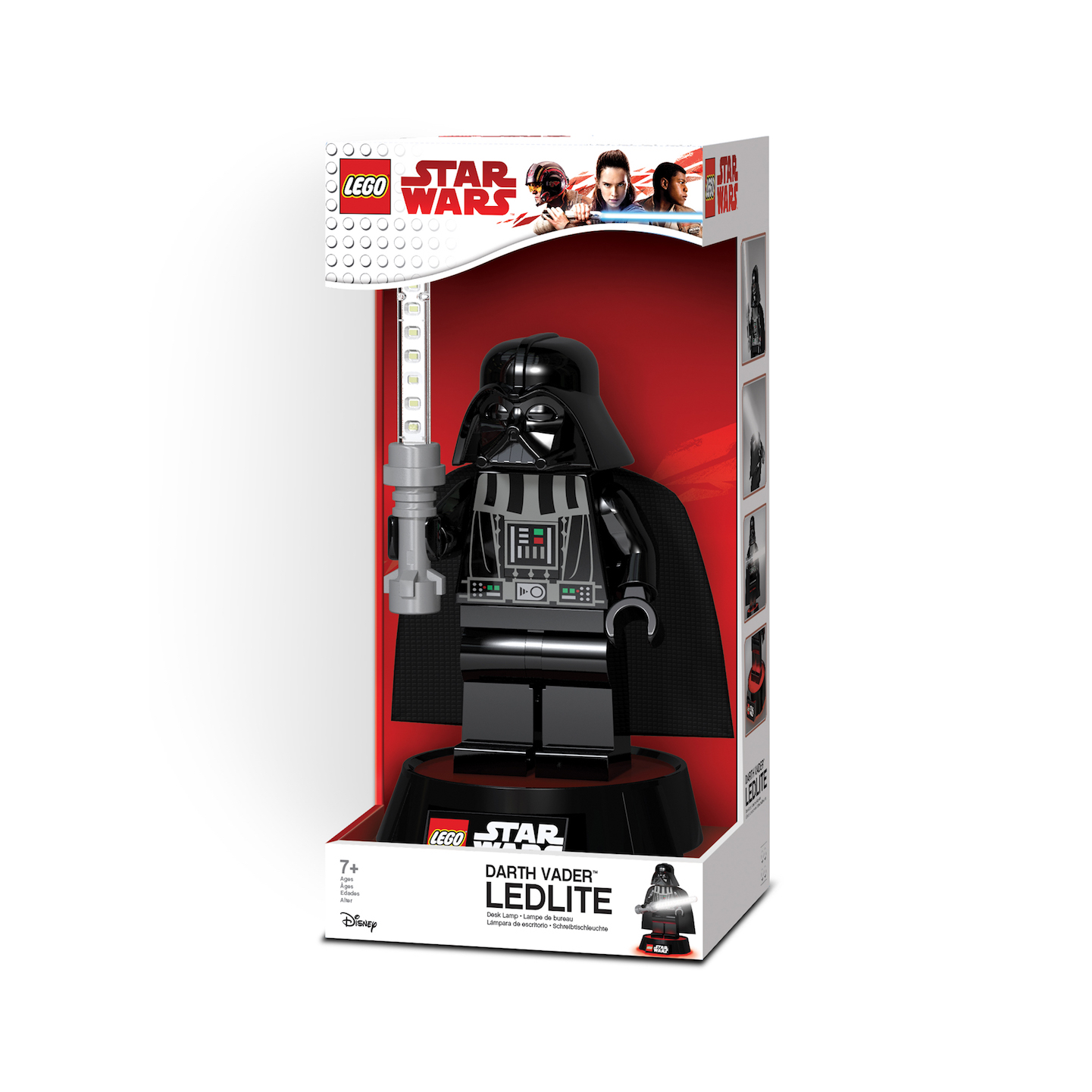 TLJ (ANH) Darth Vader Lego Desk Lamp 1