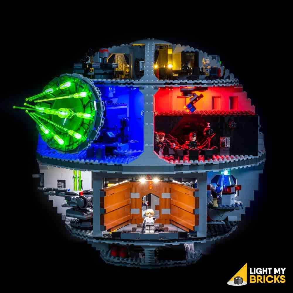 ANH Death Star Lighting Lego set