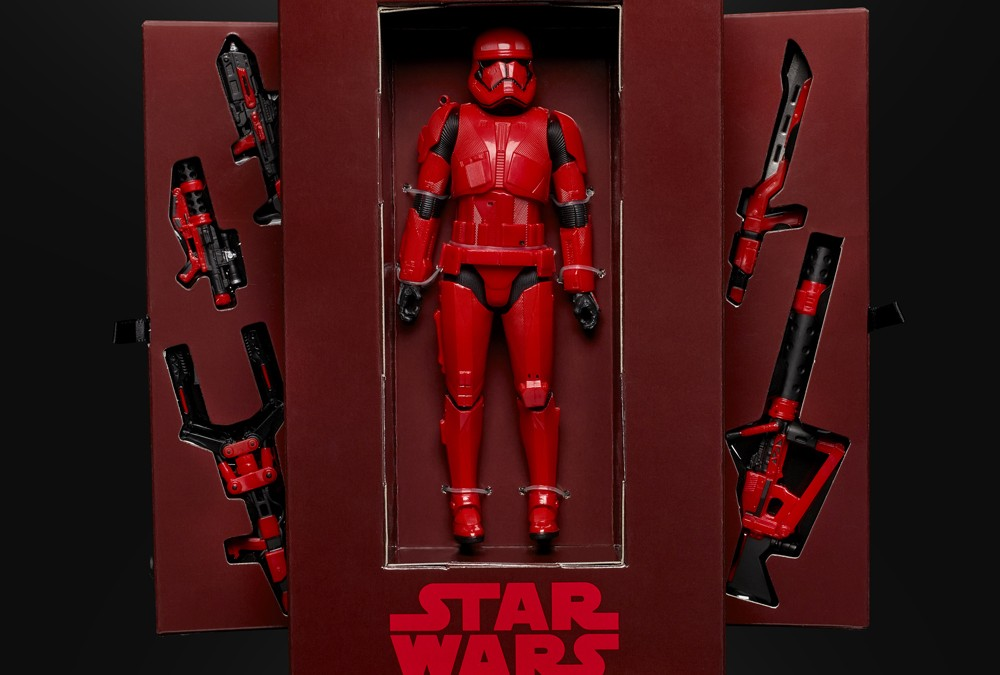 New First Order Sith Trooper Merchandise Revealed!