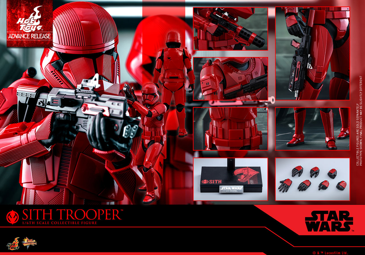 ROS HT FO Sith Trooper 1/6th Scale Figure 2