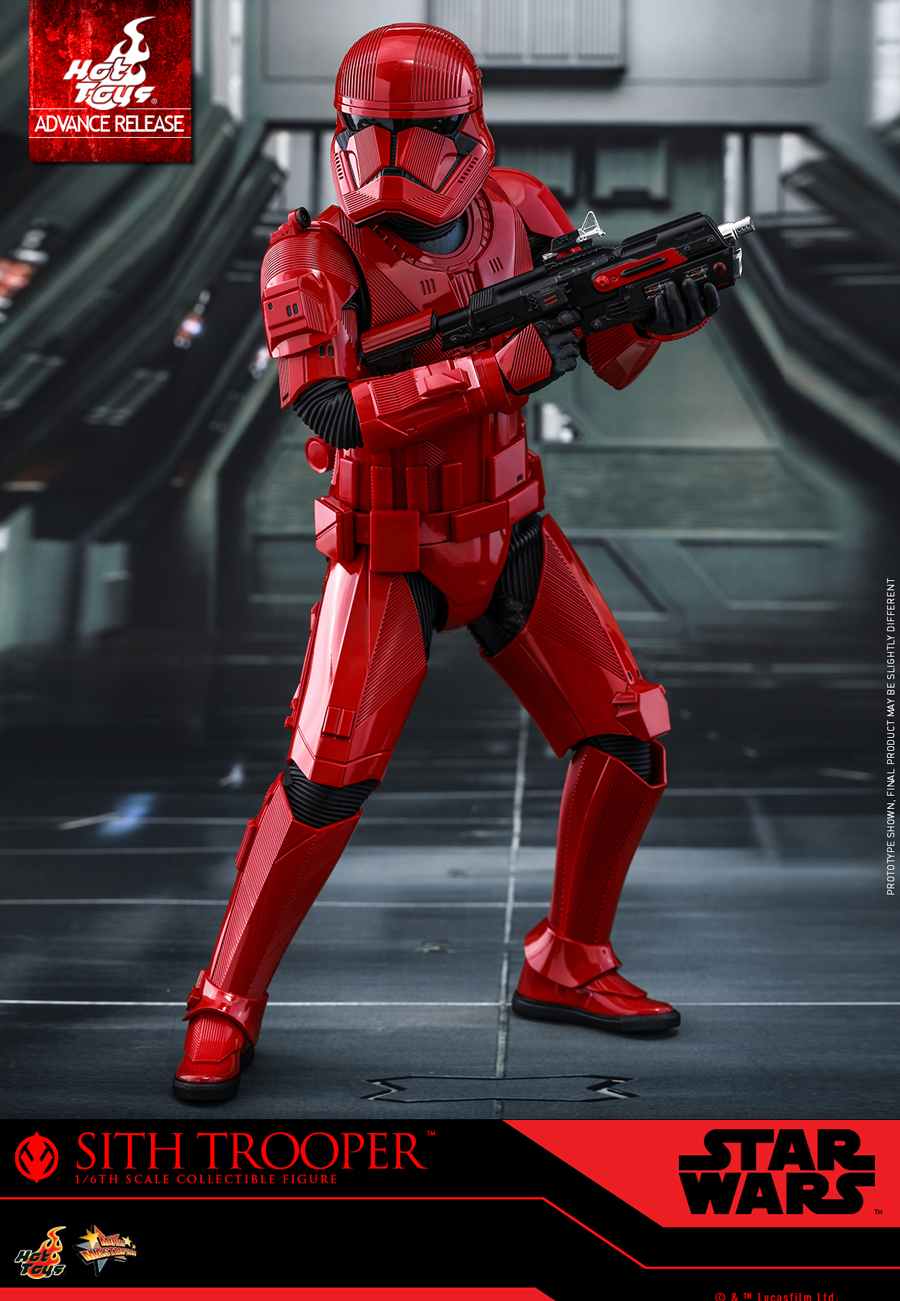 ROS HT FO Sith Trooper 1/6th Scale Figure 1