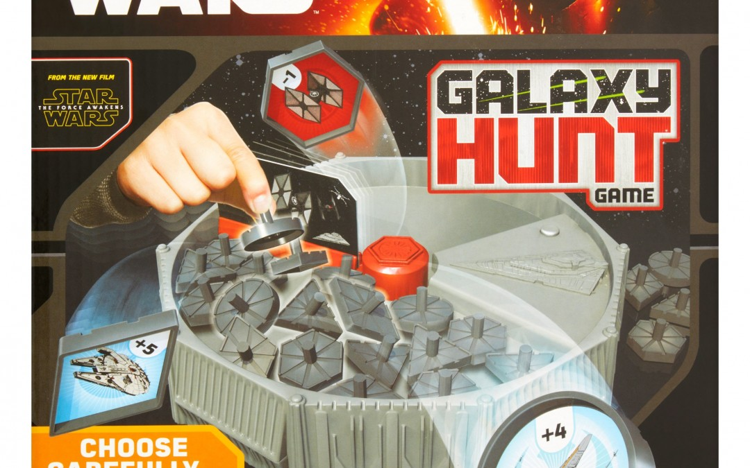 New Force Awakens Galaxy Hunt Game available now!