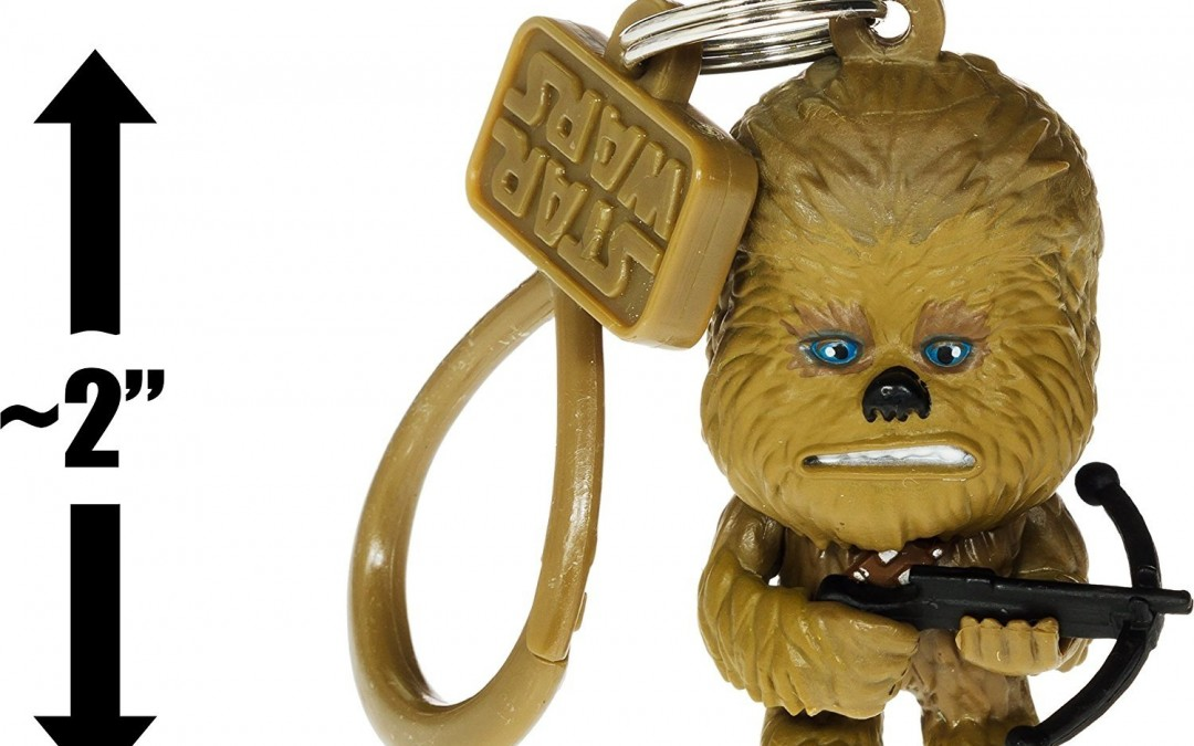 New Star Wars Chewbacca Mini-Figural Bag Clip available now!