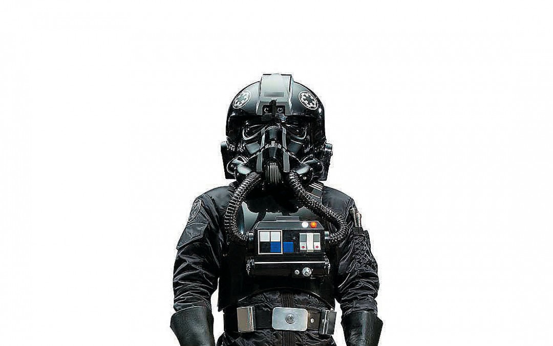 New Rogue One Imperial Tie Pilot Cardboard Standee available!