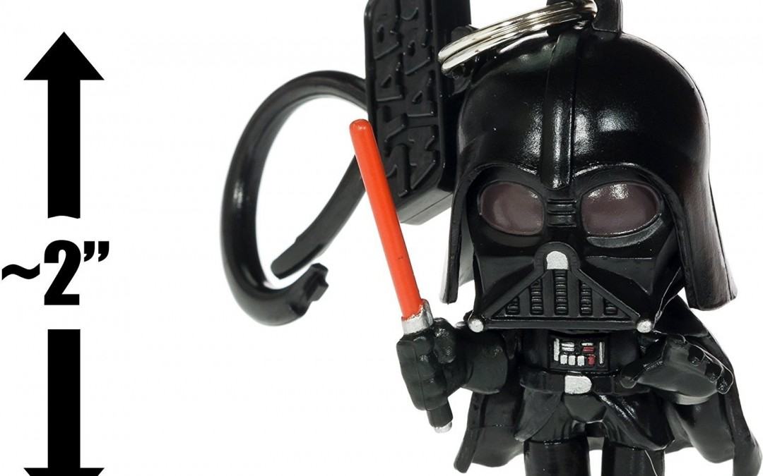 New Star Wars Darth Vader Mini-Figural Bag Clip available now!
