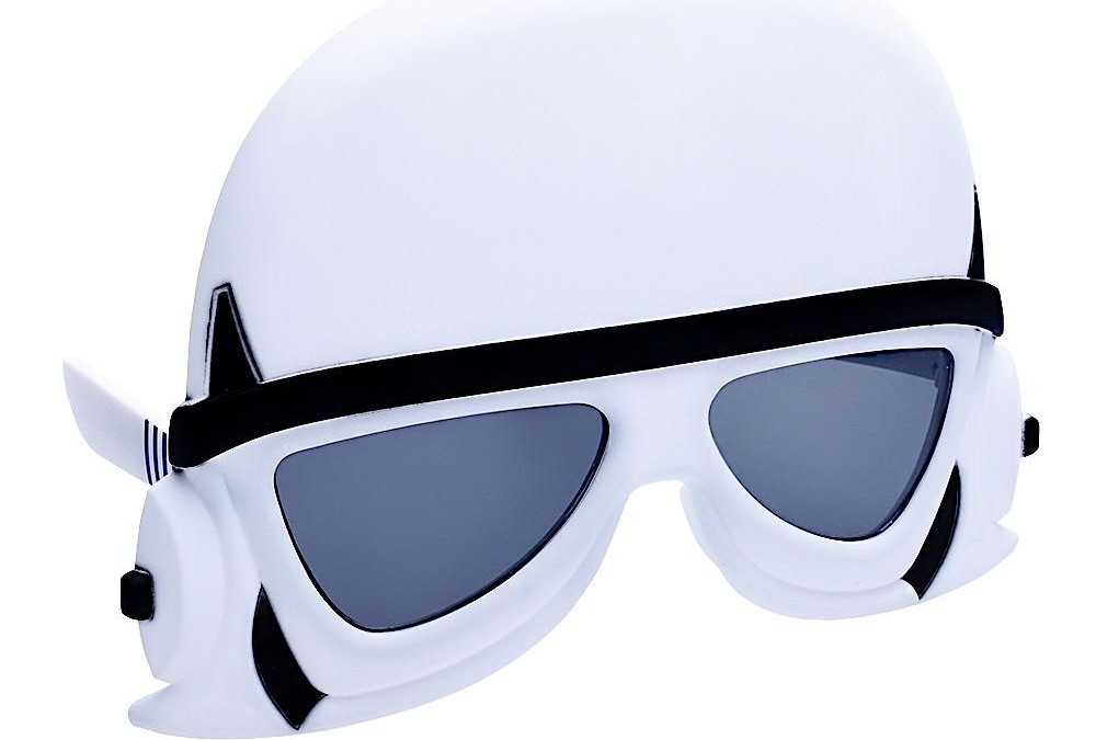 New Star Wars Stormtrooper Sun-Stache Sunglasses available!