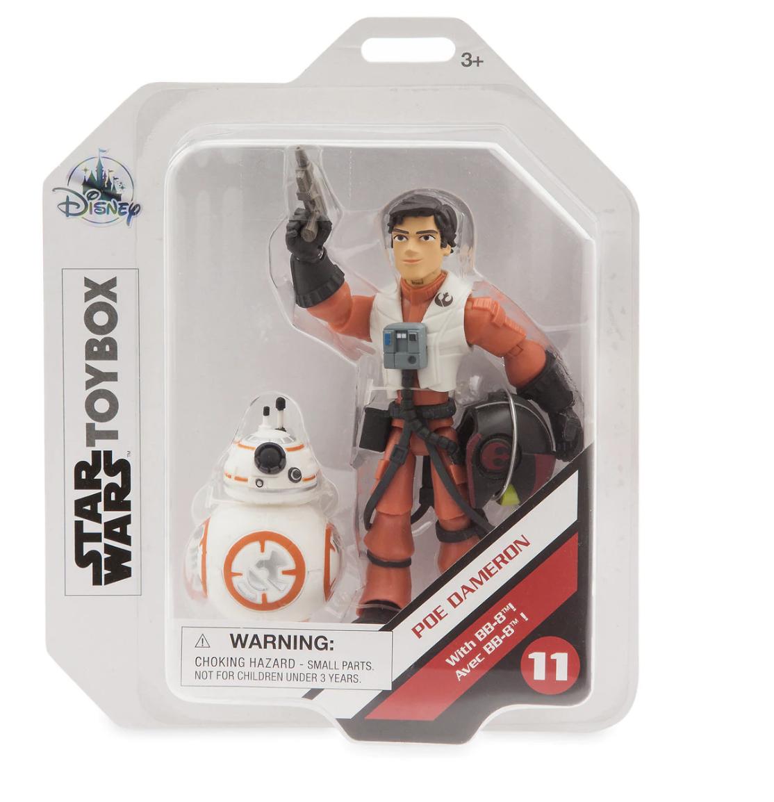 TLJ Poe and BB-8 Toybox Figure Set 1