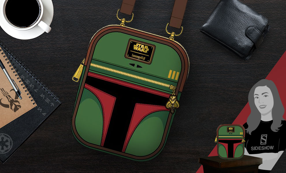 New Star Wars Boba Fett Crossbody Bag available for pre-order!