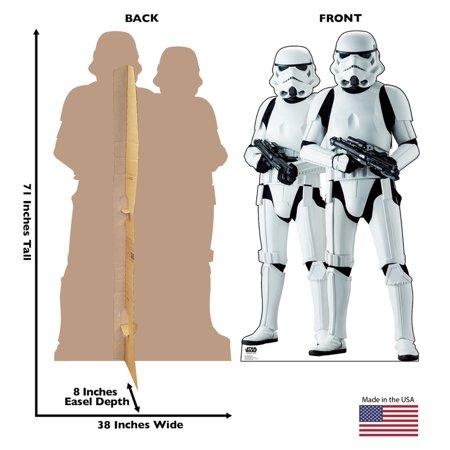 RO Imperial Stormtroopers Cardboard Standee 1