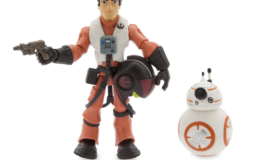 New Last Jedi Toybox Poe and BB-8 Figure Set available now!
