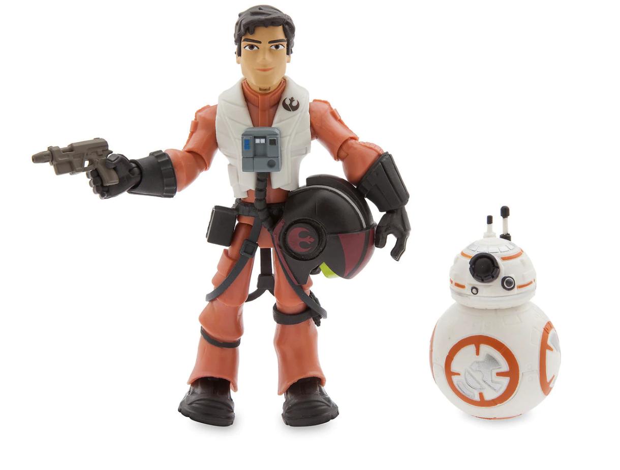TLJ Poe and BB-8 Toybox Figure Set 4