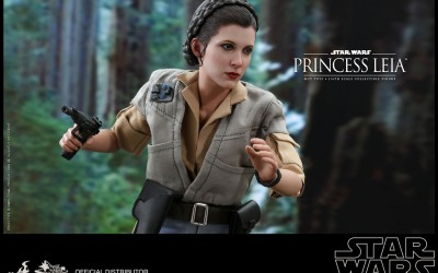 New Return of the Jedi Princess Leia 1/6th Scale Figure available of pre-order!