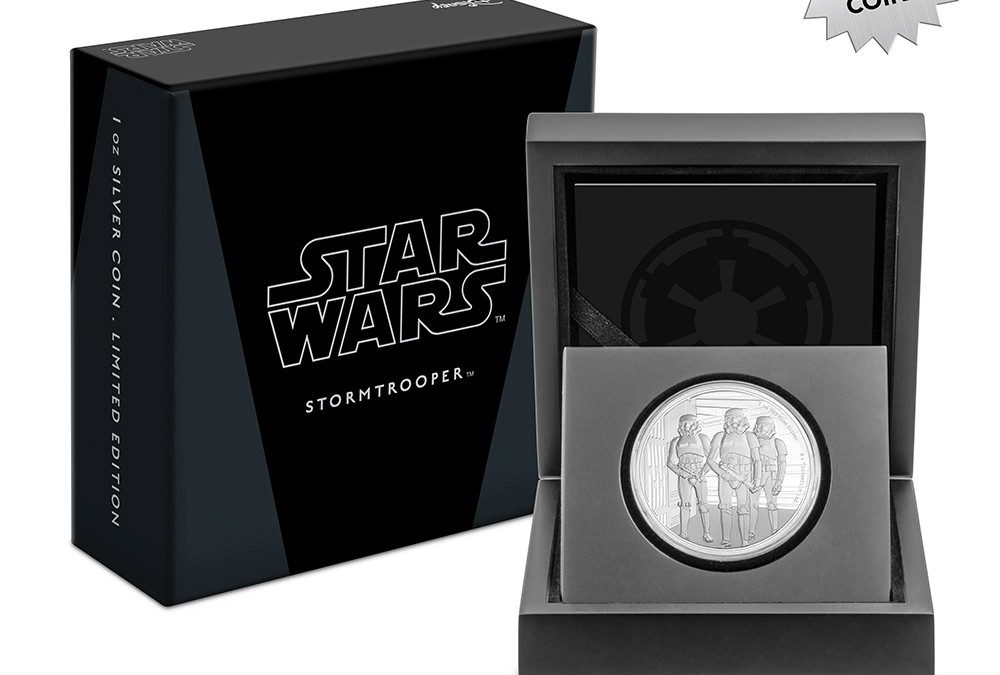 New A New Hope Stormtrooper Silver Coin available for pre-order!